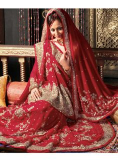 Indian Girls New Bridal Wear Dress Collection 2014  (1)