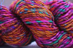 Sari Silk Yarn ...