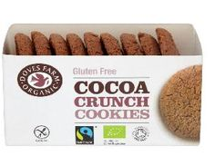 Poza Biscuiti bio cu cacao, fara gluten, 150g Cocoa, Gluten Free, Cookies, Glutenfree, Crack Crackers, Biscuits, Sin Gluten, Theobroma Cacao, Cookie Recipes