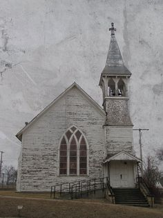 Hanover, Kansas.  OMG  I used to help teach  bible school in the basement of this church back in high school.  Sadly, it was torn down several years ago.