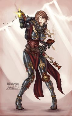 backmanarts(scatman27) bolt_pistol both_hand grenade imperium sisters_of_battle