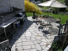 Dover Projects: How to Build a Stone Patio