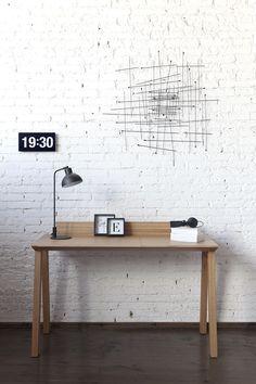 Ernest desk by Borja Garcia Studio