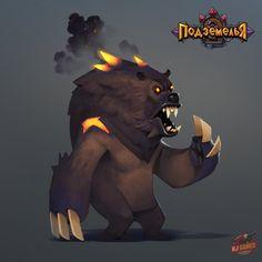 Hell Bear by Gimaldinov on DeviantArt