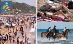 Forecasters warn of sunburn danger as temperatures soar to 90F Woolacombe Beach, Uk Weather, Northern England, England And Scotland, River Thames, Days Of The Year, Thunderstorms, Southampton, Weekend Is Over