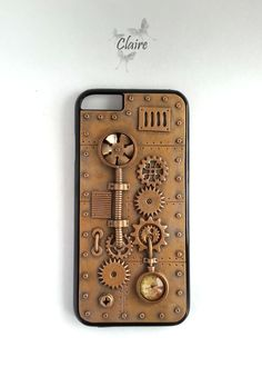 Steampunk iPhone 6 Case. iPhone Case. Steampunk by JewelryClaire