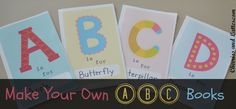 Make Your Own ABC Books
