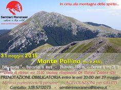 promemoria escursione 31 maggio 2015