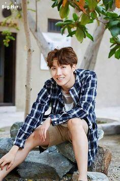 TaeHyung cree que el punto de encanto de HoSeok es cuando: sonríe