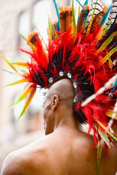 Punk Rocker Stock Photos and Pictures Looking For People, Boy George, Community Events, Art Festival, Headdress, Wordpress Theme, Character Inspiration, Vibrant, Stock Photos