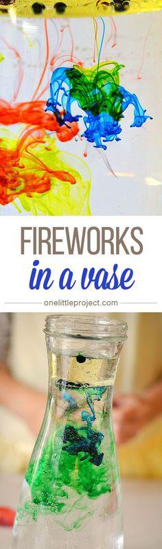 Fireworks in a Vase