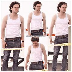 """⟨tap """"more""""✍️⟩ ≺Kit Harington on the set of The Death and Life of John F. Donovan 