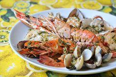 Churrasco de frutos do mar