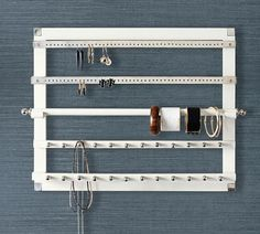 wall mounted jewelry hanger | Pottery Barn