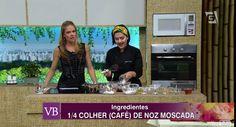 Chef Izabela Braga e a apresentadora Carol Minhoto, no programa Você Bonita, TV Gazeta, com Bolo de Especiarias e Cacau - #belanatv #dicasdabela #cozinhanutritiva #comidadeverdade #saudavelsemneura | Chef Izabela Braga - Insta: @chefizabelabraga