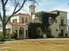 Mediterranean Style House - Mistletoe Heights, Fort Worth, TX - photo by StevenM_61