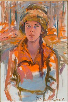Megan - Elaine de Kooning: Portraits – National Portrait Gallery -