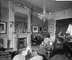 12 Portland Place (c) English Heritage.NMR Reference Number: BL12015 Interior view in the back drawing room