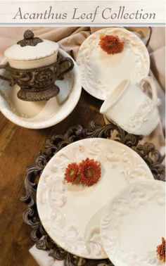 The Acanthus Leaf Collection from Gracious Goods will make you feel like royalty while you dine. Iron Accents has the lowest prices on #TheGGCollection anywhere!