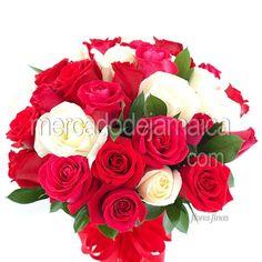 Arreglos Florales en el df Rosas Rojas Almendra !  Envia Flores