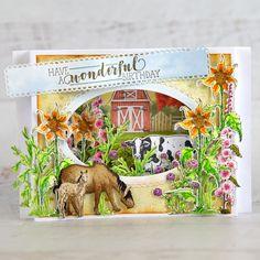 Heartfelt Creations - The Barnyard Bunch