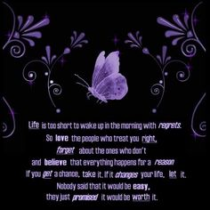Create and share purple quotes graphics and comments with friends.