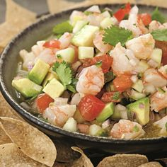 This easy mock ceviche is an easy crowd pleaser for any party!