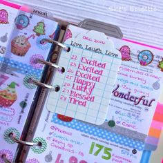 She's Eclectic: My week in my Filofax #52 - journaling tag