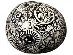 Cool sharpie art! https://www.etsy.com/listing/109383381/custom-helmet-sharpie-art