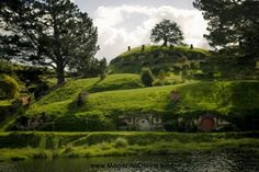 Hobbiton in New Zealand – Place of Hobbit Houses