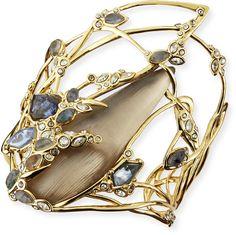 Alexis Bittar Bendable Crystal Lace Doublet Cuff Bracelet on shopstyle.com