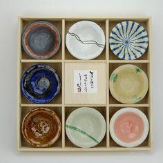 Japanese set bowls, stoneware