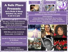 12th Annual Walk Breaking the Cycle of Teen Dating Violence Oakland, CA #Kids #Events