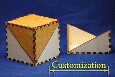 Schatz Brust Box Halter Halter CNC Cut Datei Laser von projectCNC(original template created with http://boxdesigner.frag-den-spatz.de)