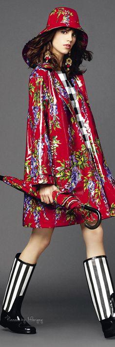 ♔Dolce & Gabbana.2015♔ Chubasquero
