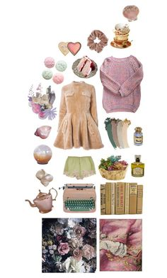 """""""Untitled #2080"""" by zoella ❤ liked on Polyvore featuring KEEP ME, Rosamosario, Dollhouse, i Profumi di Firenze, Pier 1 Imports, J.W. Anderson, Gucci, Scarlet Roos, Topshop and Too Faced Cosmetics"""