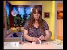 Silvia Nieruczkow  - Bienvenidas TV - Realiza un Angelito Portavelas