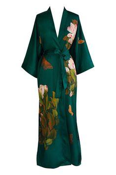Peony   Butterfly Kimono Robe 5c9911675