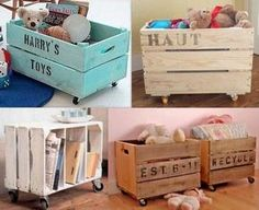 Great Wood Projects For Kids – WoodworkeRealm Pallet Projects, Woodworking Projects, Baby Boy Rooms, Toy Boxes, Kids Furniture, Home Deco, Diy For Kids, Kids Bedroom, Crates