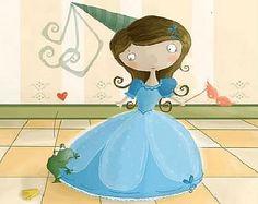 Cuento la princesa sin castillo.   http://www.cuentos-infantiles.org/la-princesa-sin-castillo/