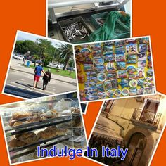 A collage of pics taken in TROPEA, as part of the Italian lifestyle!
