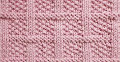 Using Knit and Purl combinations. This pattern is not not same on both side. Knitted in a multiple of 14 sts+ 2 and 18-rows repeat.