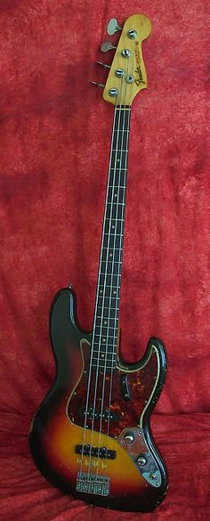 FENDER 1961 Jazz Bass, Sunburst, All Original, Brazillian Rosewood Fingerboard
