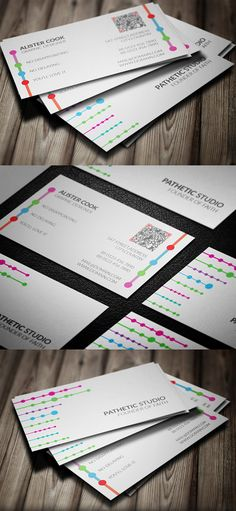 Colorful Business Card Template #businesscards #businesscardtemplates…