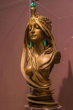 1900年のパリ万国博覧会に出展されたミュシャの名作「ラ・ナチュール」 lanature_20150730_03.jpg