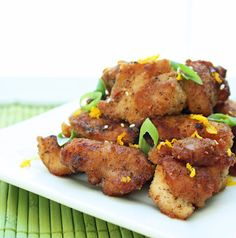 Low Carb Orange Chicken (Gluten Free) - I Breathe... I'm Hungry...