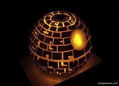 The true essence of Total Geekdom gets summed up pretty easily right here. The Death Star, in pumpkin form. I decided this year to go a different route with the pumpkin carving and go a little non-…