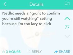 I'm Notifying Netflix Of This Great Idea