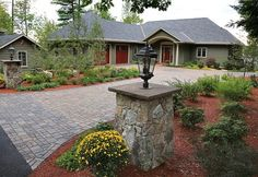 Permeable Driveway & Landscaping - Natures Elite Landscaping in Meredith, NH