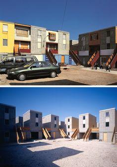 Alejandro Aravena Quinta Monroy Housing. Iquique, Chile 2004 . Image © Cristobal Palma